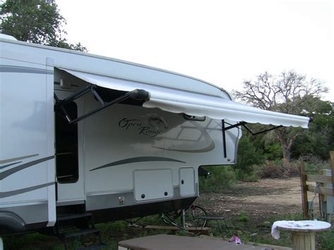 rv trailer awnings rv awning fifth wheel pictorial guide