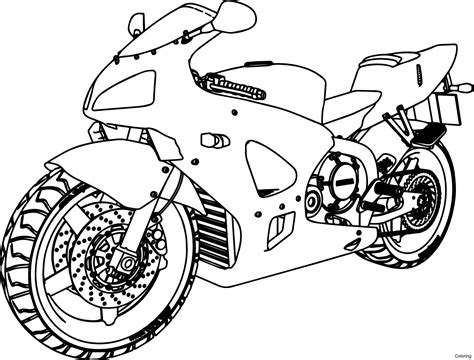 card dirt bike coloring templates honda motorcycle drawing at getdrawings free for