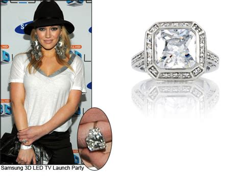 downsized dazzlers style engagement rings that