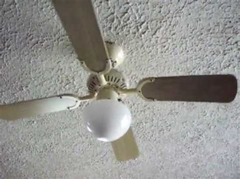 Ceiling Fan Wobbles by 42 Quot Encon Princess Youtube
