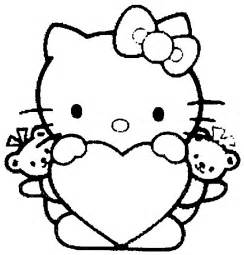 kitty coloring pages coloringpagesabc