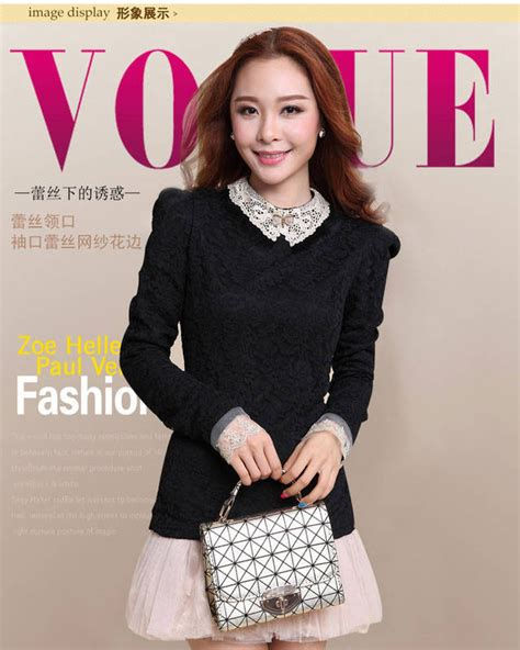 Baju Atasan Wanita Murah Atasan Korea Import Louise Top jual baju brokat newhairstylesformen2014