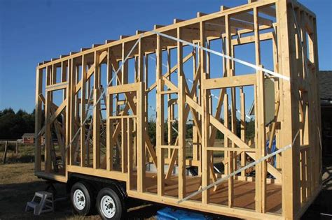 how to build a frame house follow along with this tiny house build on vancouver