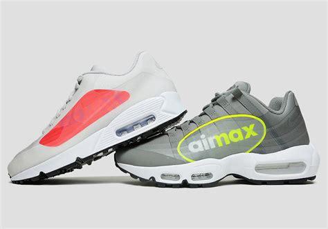 Nike Air Logo nike air max 90 air max 95 quot logo quot pack release