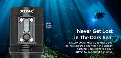 Senter Diving Xtar D35 Diving Waterproof Senter Led Cree Xm L2 U2 2800 xtar d08 diving waterproof senter led cree xp e2 2000