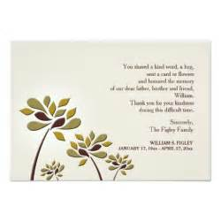 mournful sympathy thank you card zazzle
