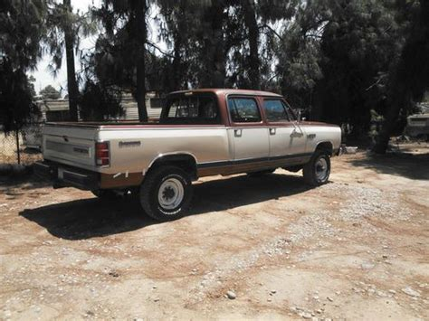 dodge power wagon cummins conversion buy used 1984 w350 crew cab bed prospector power