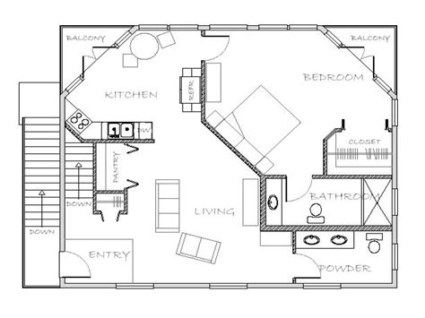 house plans with attached in quarters in