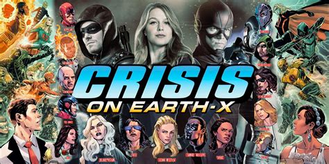 Conflict The Crossover Series crisis on earth x crossover gets a synopsis screen rant