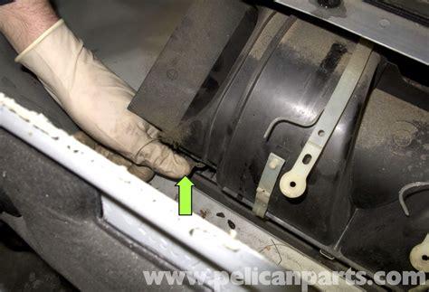 z3 blower resistor bmw z3 blower motor replacement 1996 2002 pelican parts diy maintenance article