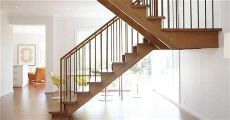 U Stairs Design U Shaped Ash Wood Stair Modern House Insight Staircases