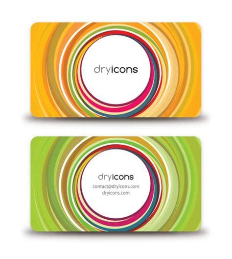 circular business cards templates 100 free business card templates designrfix