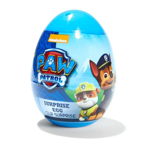 Kmart Home Decor Paw Patrol Surprise Egg With Jelly Beans 10g Assorted