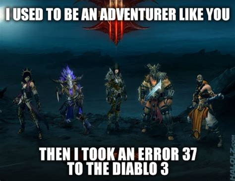 Diablo 3 Memes - diablo 3 meme a comedy of errors epic fail a d d