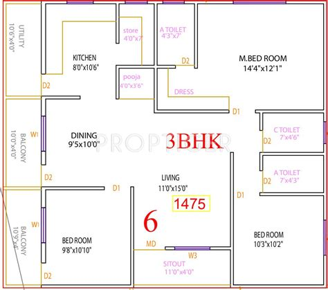 house plans according to vastu 3 bhk house plans according to vastu