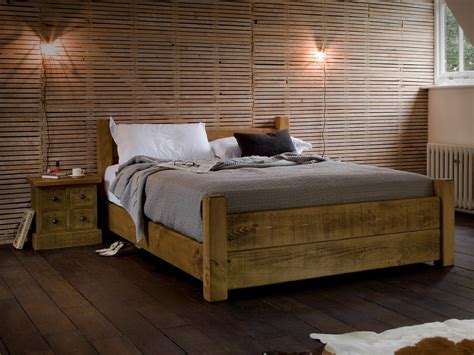 wood bed frame plank loft bed bedroom wooden bed frames