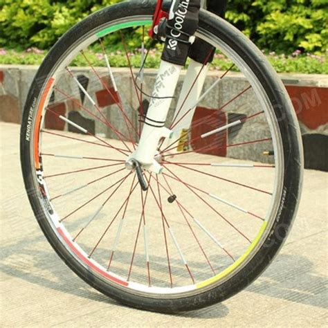 Safety Reflective Roda Sepeda 12pcs bike wheel spoke abs safety reflective reflector grey 12pcs free shipping dealextreme