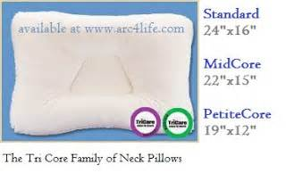 Benefits Of Cervical Pillow by Arc4life S Relief For The Neck And Low
