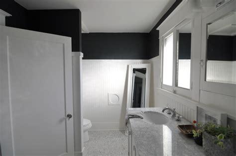 bathroom with black walls bathroom update black walls house updated