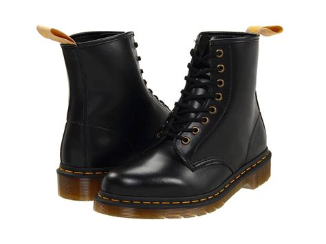 doc martin boots dr martens 1460 vegan 8 eye boot at zappos
