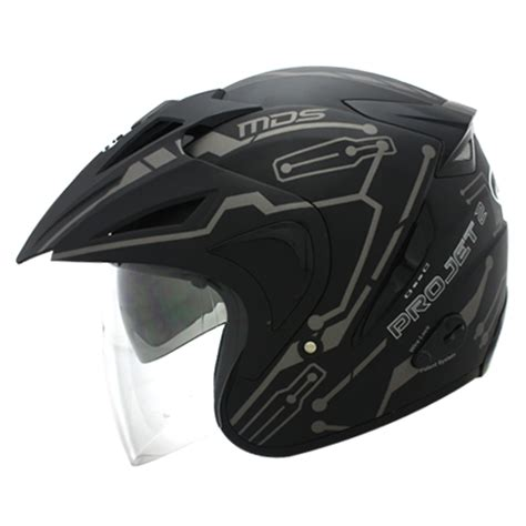 Helm Mds Project 2 Black Doff jual helm ink kyt mds nhk gm dll kaskus the largest community