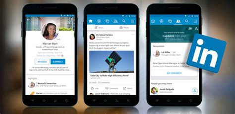 linked in mobile linkedin rolls out reved mobile app for android and ios