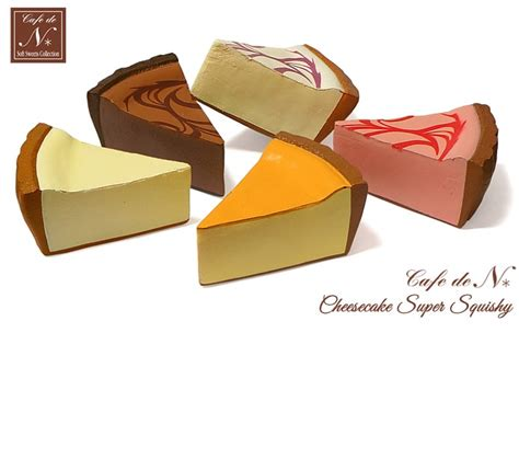 cafe de n squishy shop cafe de n premium cheesecake squishy