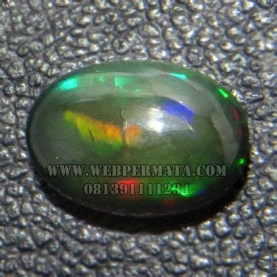 Black Opal Kalimaya 1 7 Ct 17 best images about batu permata on blue