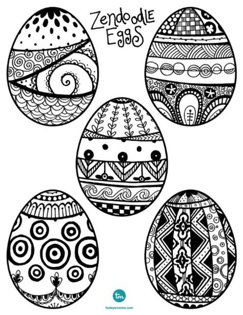 egg pattern drawing zendoodle easter egg coloring pages coloring eggs and