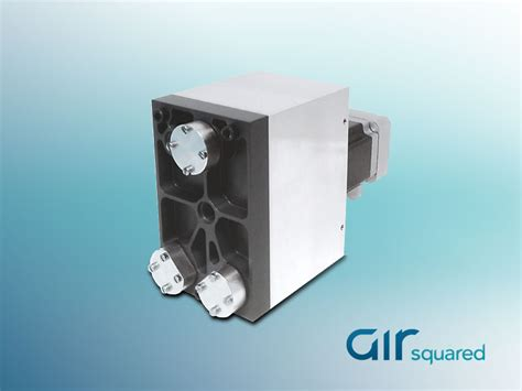 fuel cell hydrogen recirculation pump air squared scroll