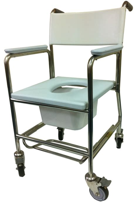 Commode Use by Shower Commode 3 In 1 Stainless Steel