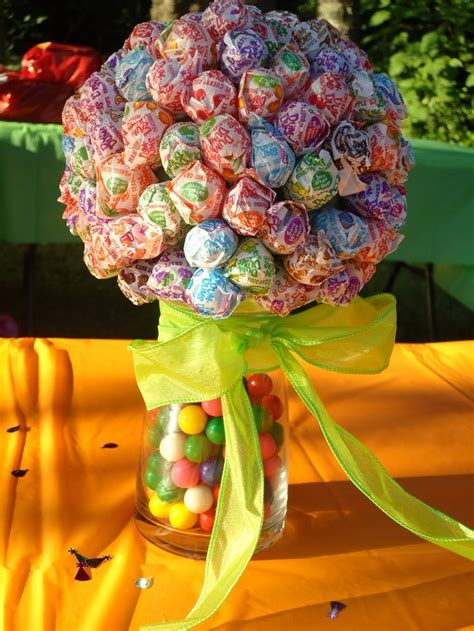 colour themes lollipop lollipop centerpiece might have to do this kids table