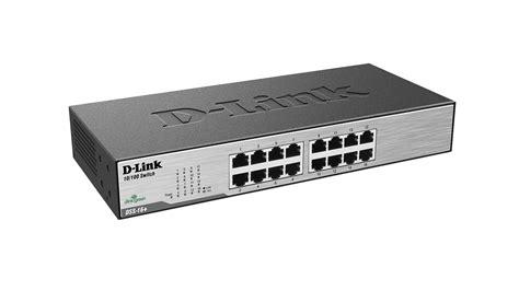 Switch Hub Port 16 16 port fast ethernet switch dss 16 d link