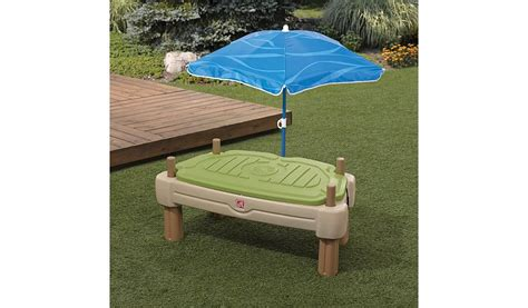 Step 2 Patio Set by Step 2 Naturally Playful Picnic Table With Umbrella Home
