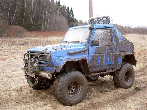 daihatsu rocky offroad modifications of daihatsu rocky www picautos com