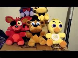 All fnaf 1 plushies youtube