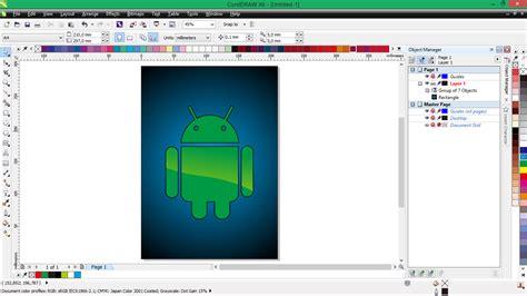 membuat novel di android membuat logo android di coreldraw d art