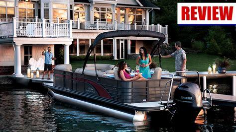 bennington pontoon boats youtube pontoon boat reviews 2016 bar galley from bennington