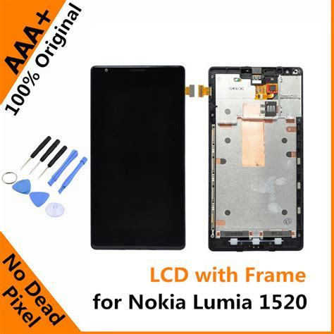 Lcd Nokia 5630 Original original lcd with frame for nokia lumia 1520 lcd display