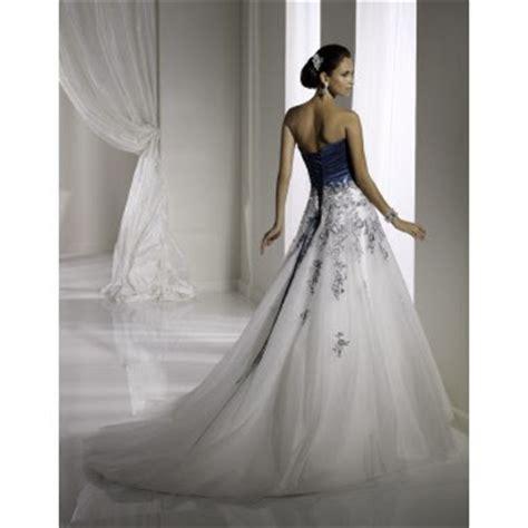 Blue And White Wedding Dress – white and blue wedding dresses Naf Dresses