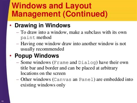 window layout manager java java 7 and java 8 programming tutorial awt components