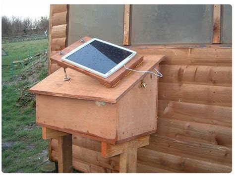 diy solar power for the shed or poultry house chicken