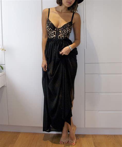 apair andaspare diy weekly sheer black maxi skirt