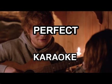 ed sheeran perfect karaoke download ed sheeran perfect karaoke instrumental