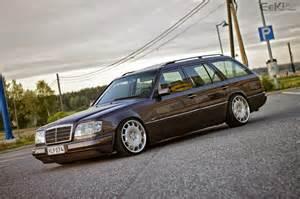 Mercedes W 124 Mercedes W124 Estate On Carlsson Wheels Benztuning