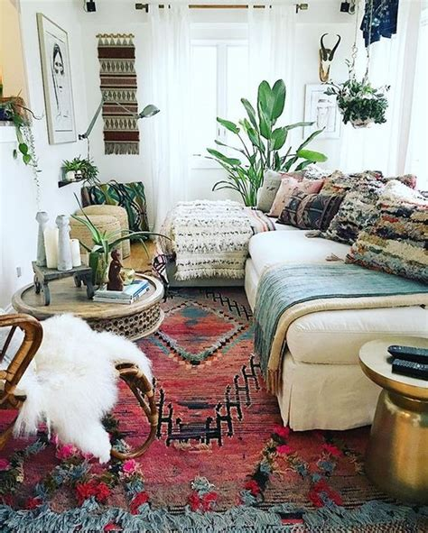 Boho Home Decor Ideas by 26 Bohemian Living Room Ideas Decoholic