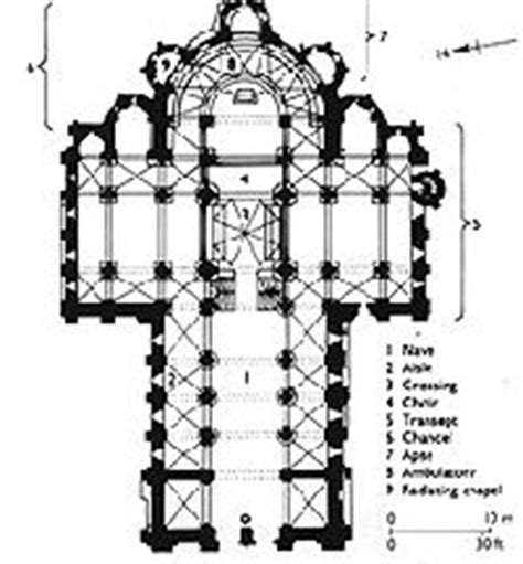 romanesque church floor plan romanesque floor plans and church on