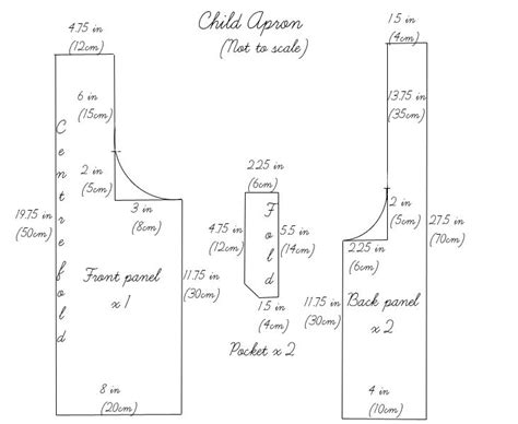 pattern for workshop apron 1000 ideas about child apron pattern on pinterest kids