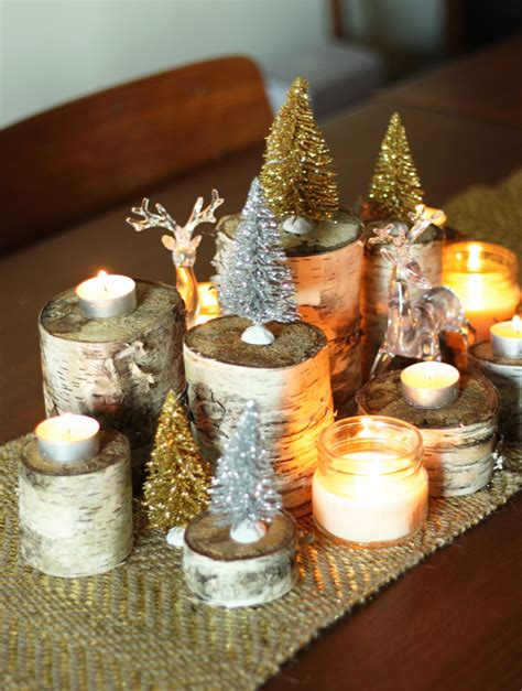 ways to set up the perfect festive diy dinning arrangement holiday diy naturally glamorous holiday centrepiece the