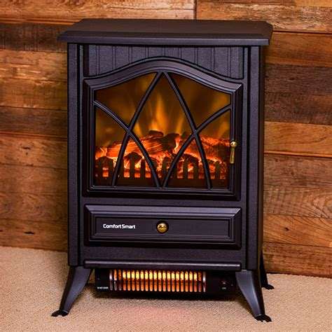 Comfort Smart Electric Fireplace by Comfort Smart 600 Sq Ft Infrared Fireplace Stove Cs 18ir